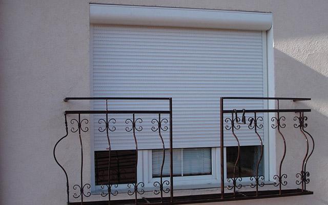 Estores exteriores em PVC - Imagem 1